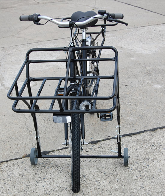 transportrad fahrrad lastenrad postfahrrad 3 gang schwarz. Black Bedroom Furniture Sets. Home Design Ideas